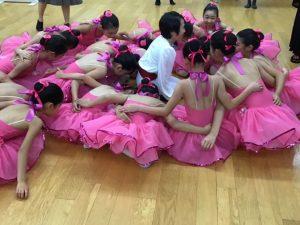 バレエ ピンクの衣装